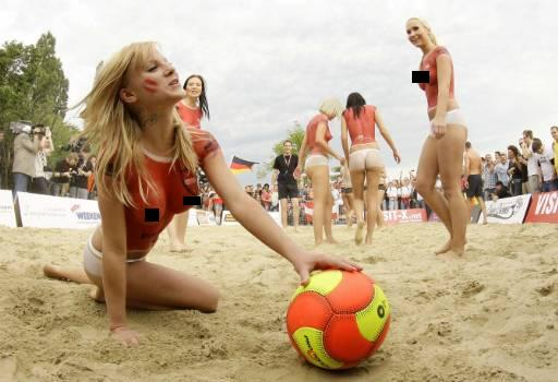 Topless soccer 6