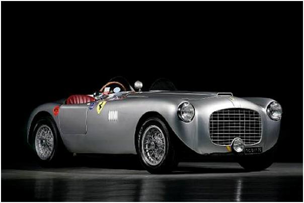 1951 Ferrari 212 Export Spyder – Estimate $2,315,000 - $3,145,000.