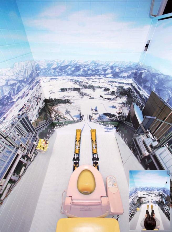 ski-jump-stall