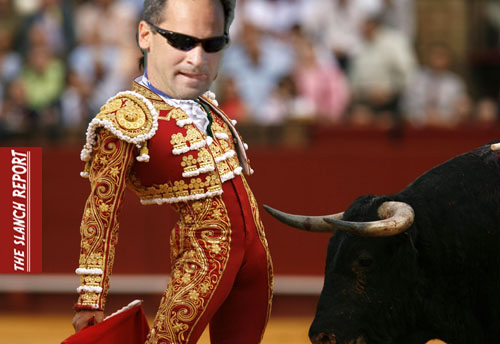 Vizquel Bull Fight