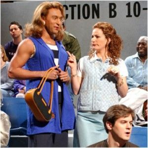 derek jeter SNL in Drag