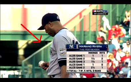 Mariano Rivera Spit on Ball3