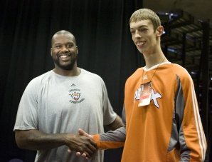 Brendan Adams and Shaq