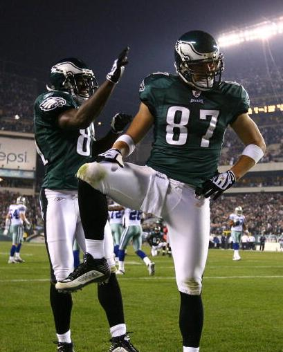 Brent Celek Captain Morgan