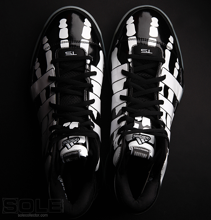 Adidas Tim Duncan Skeleton Shoes